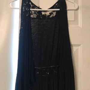 Sleeveless cover up
